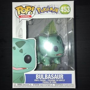 Pokémon bulbasaur pop figurine
